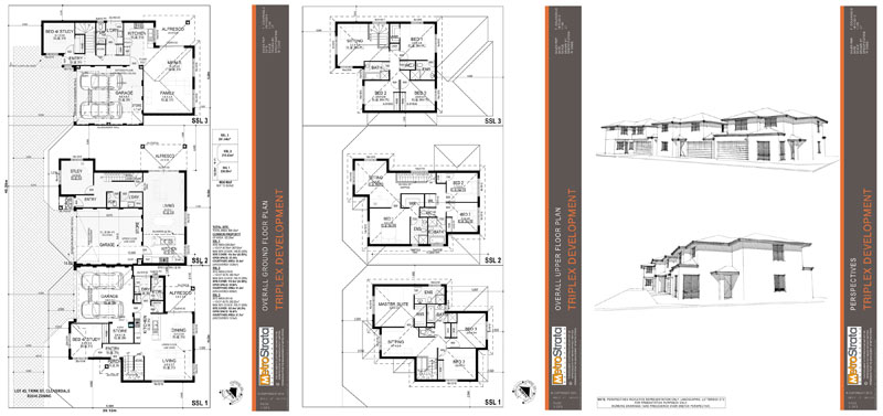 Property development case studies metrostrata for Quadruplex floor plans